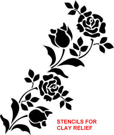 stencils-for-clay-relief-sample