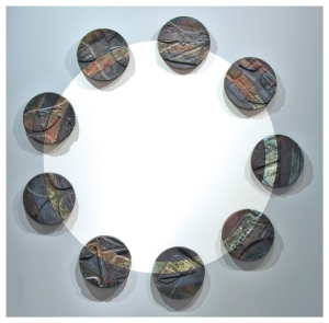 '9-MOONS-ECLIPSE'-RAKU,-WALL-ART-copy copy