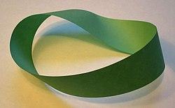 mobius strip green