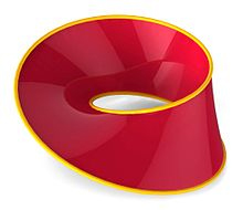 Mobius strip red